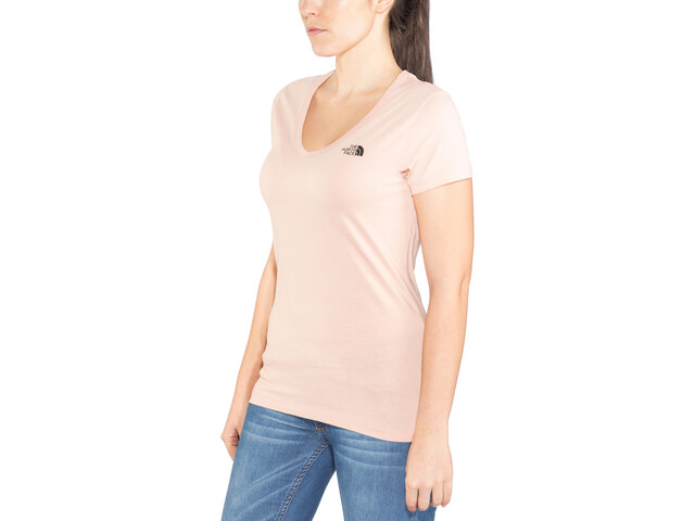 The North Face Simple Dome Camiseta manga corta Mujer, misty rose